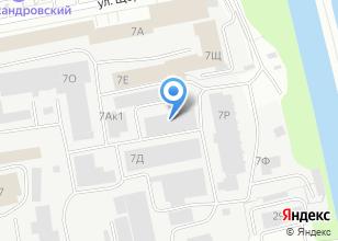 Компания «Электрострой» на карте