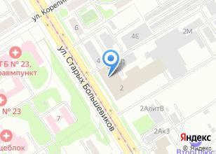 Компания «БоСеКом» на карте