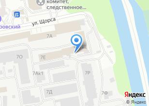 Компания «ВентСпецСтрой» на карте