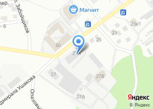 Компания «МаксиПласт» на карте