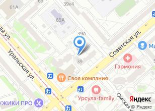 Компания «Soffitto» на карте