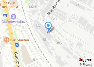 Компания «Внештранс-Регион» на карте