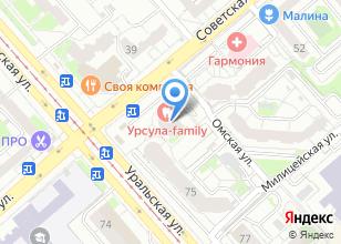 Компания «СпортДоставка» на карте
