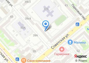 Компания «Автопартнер» на карте