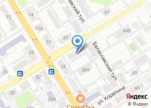 Компания «Акванта» на карте