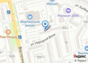Компания «905090.ru» на карте