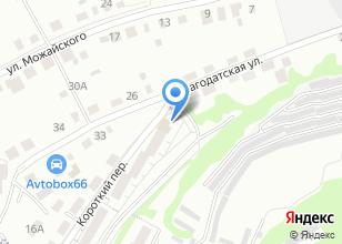 Компания «Айс Лайн» на карте