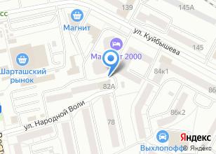Компания «Проспера» на карте