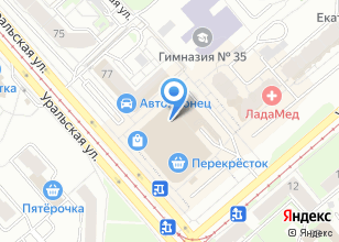 Компания «Ювелирный парад» на карте