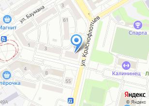 Компания «РЫБАЛОЧКА» на карте