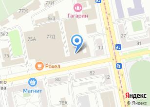 Компания «Самурай-авто» на карте