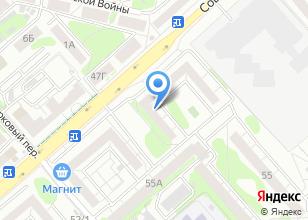 Компания «ЭFFЕКТ» на карте