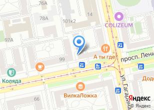 Компания «DPD» на карте