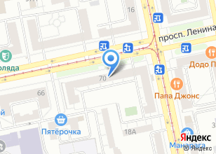 Компания «Вузовский» на карте