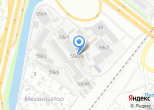 Компания «Росфурнитура» на карте