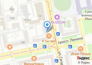 Компания «Express Vektor» на карте