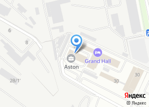 Компания «Aston бизнес-центр» на карте
