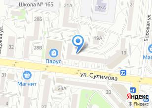 Компания «Bananzza» на карте