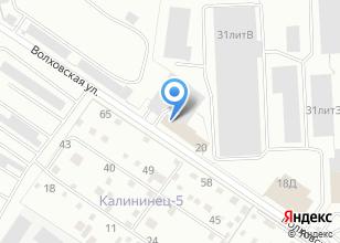 Компания «ГрузЭкспресс» на карте