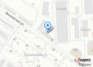 Компания «УралАвтоТрал» на карте