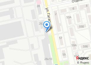 Компания «Уралстройсертификация» на карте