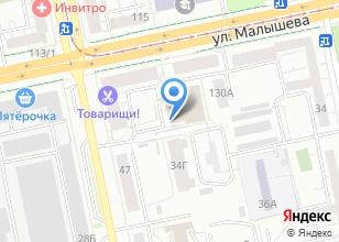 Компания «ЛИНЭРГО» на карте