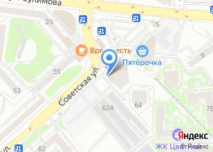 Компания «Strongpeople.ru» на карте