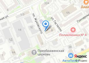 Компания «ИНТЕРМАГ» на карте