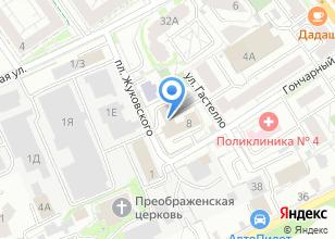 Компания «Скат» на карте