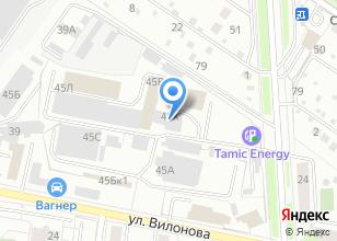 Компания «Уральская проектно-строительная компания» на карте