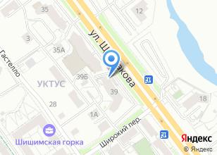 Компания «Трасса Е 96» на карте