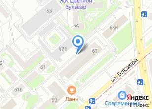 Компания «Сеть магазинов ковров» на карте