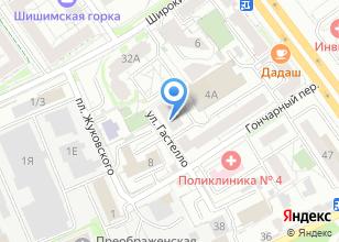 Компания «СкайПром» на карте