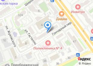 Компания «Сети» на карте