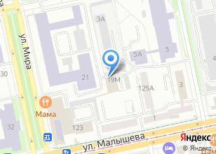 Компания «Транспортный отдел» на карте