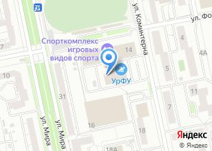 Компания «Университетский» на карте