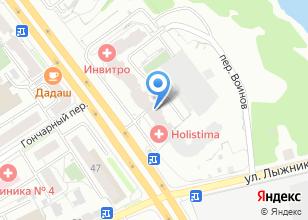 Компания «Фактура» на карте