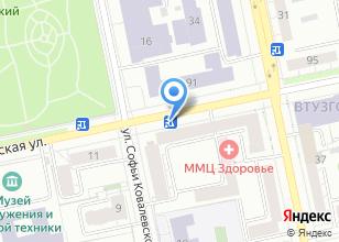 Компания «Мобильные АЗС» на карте