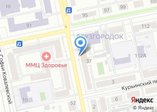 Компания «ПЕРВАЯ СТРОИТЕЛЬНАЯ КОМПАНИЯ» на карте