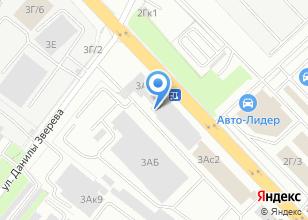 Компания «ПрофРез» на карте