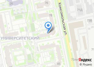 Компания «Любимый Продуктовый» на карте