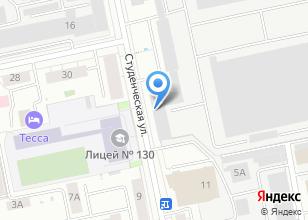 Компания «Уральский электромеханический завод» на карте