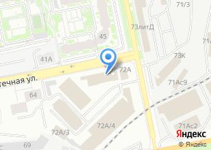 Компания «Супермаркет цветов и подарков» на карте