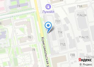 Компания «Евробалконы» на карте