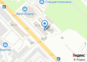 Компания «Колесо-ЕК» на карте