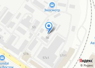Компания «Уралклиматстрой» на карте