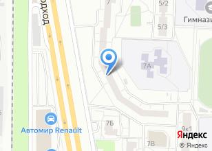 Компания «Рубль» на карте