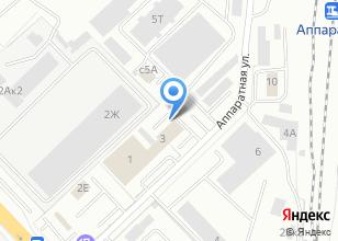 Компания «Артпласт-Т» на карте