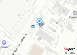 Компания «Корса-Урал» на карте