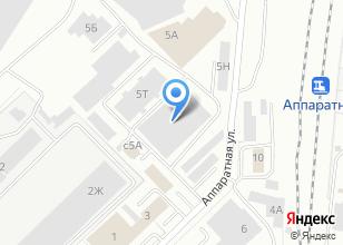 Компания «Интер Строй» на карте
